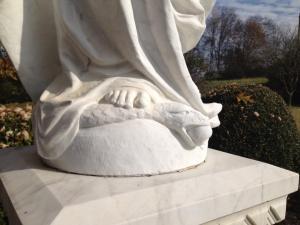 Mary feet