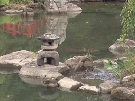 lantern pond