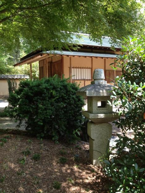 lantern with hut
