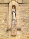 Bede hall statue