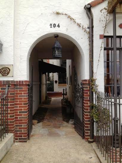 courtyard gate a