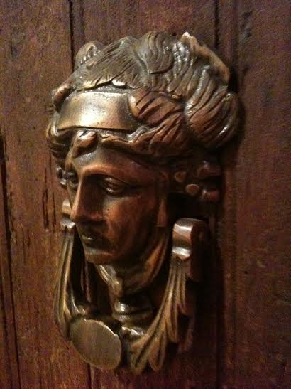 door knocker a