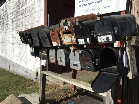 Mailboxes a